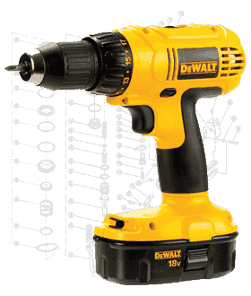 DeWalt Drill Repair Parts