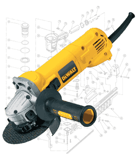 DeWalt Grinder Repair Parts