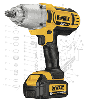 DeWalt Impact Driver Repair Parts