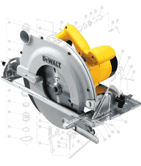 DeWalt Saw Repair Parts