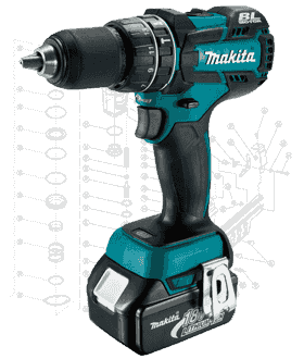 Makita Drill Repair Parts