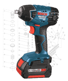 Bosch Impact Wrench Repair Parts